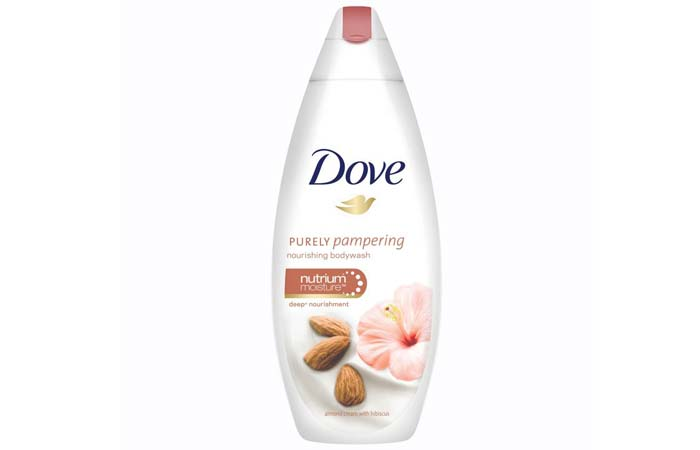 Dove Almond Cream and Hibiscus Body Wash
