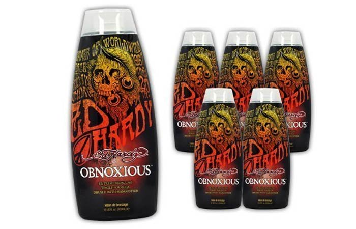 Ed Hardy Obnoxious Indoor Tanning Lotion Accelerator