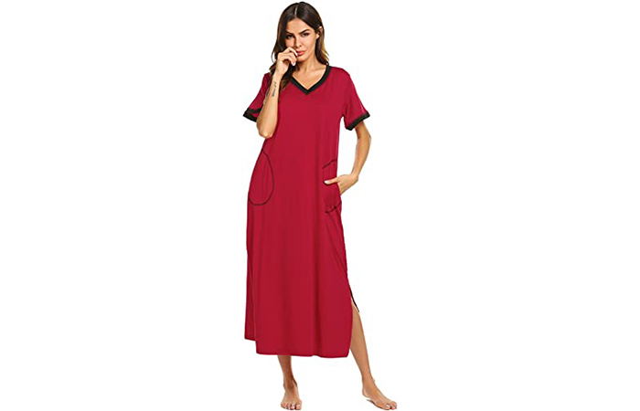 Ekouaer Loungewear Long