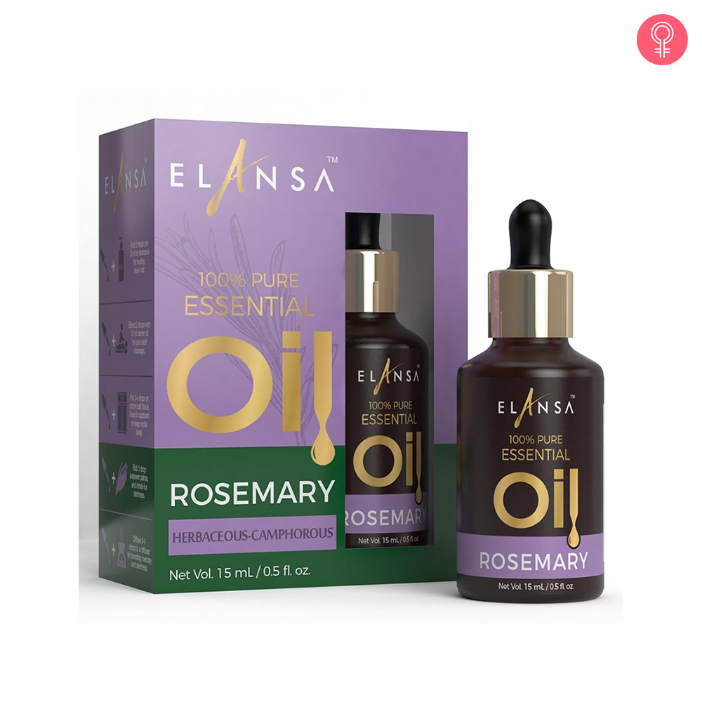 Elansa 100% Pure Rosemary Essential Oil