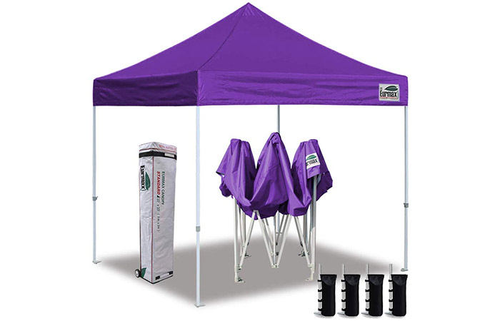Eurmax 10' x 10' Ez Pop Up Canopy Tent