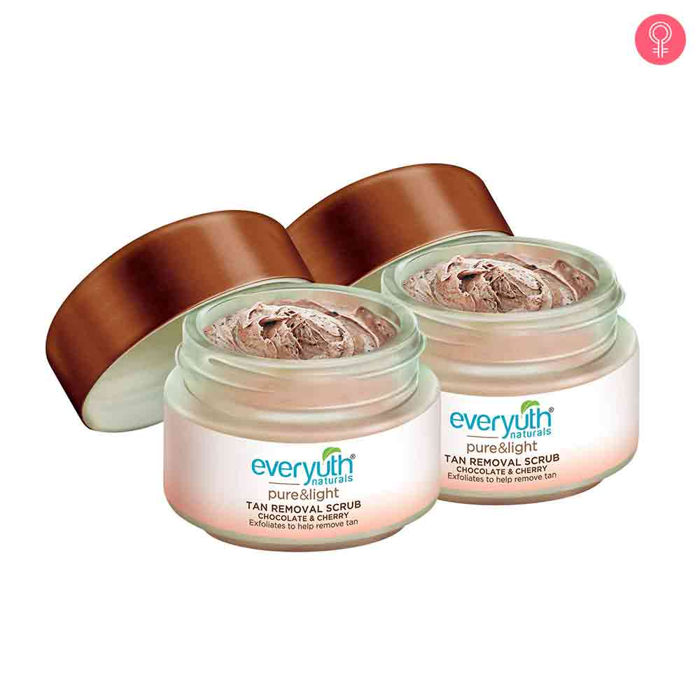 Everyuth Naturals Pure & Light Chocolate and Cherry Tan Removal Scrub