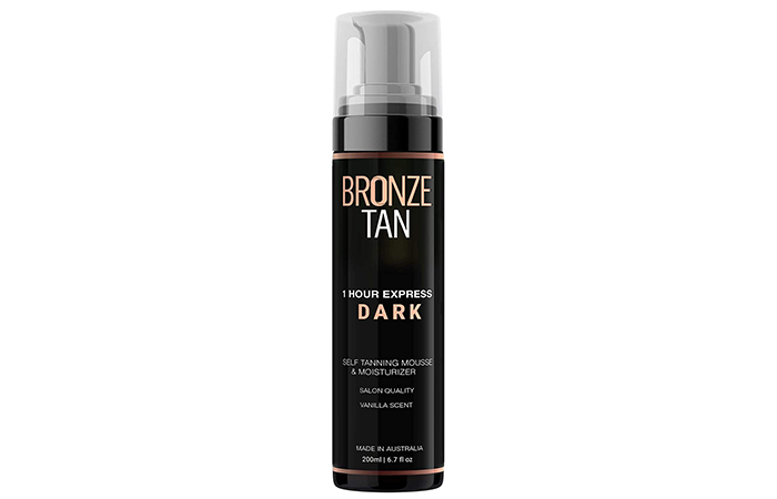 Existing Beauty 1 Hour Express Dark Self Tanning Mousse & Moisturizer