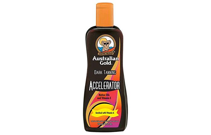 Exoctic Blend Australian Gold Dark Tanning Accelerator