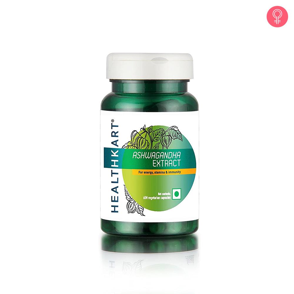 HealthKart Ashwagandha Extract Capsules
