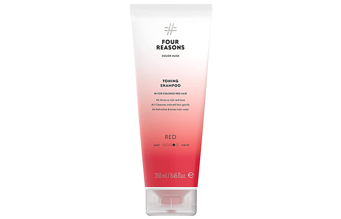 Four Reasons Color Mask Toning Shampoo #1 For Colored Red Hair – Best Color-Depositing Shampoo For Red Hair