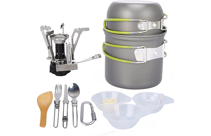 G4 Free Camping Cookware