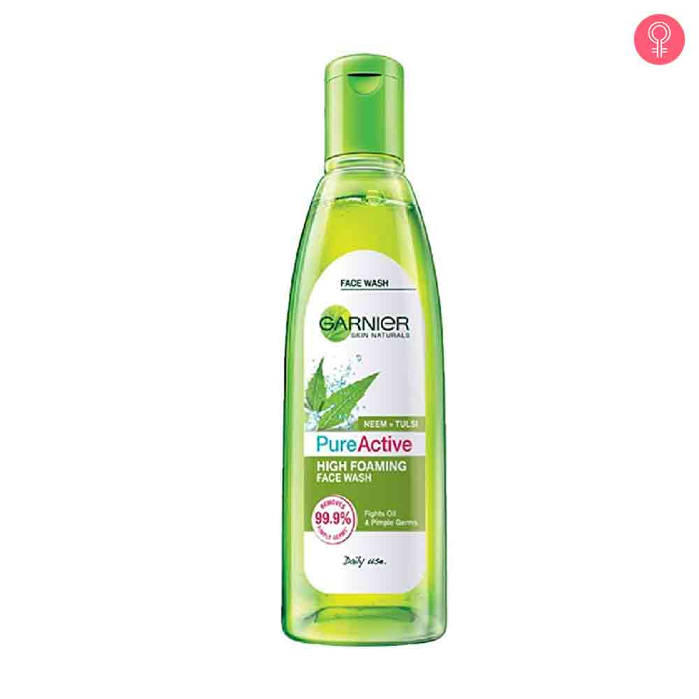 Garnier Pure Active Neem + Tulsi High Foaming Face Wash