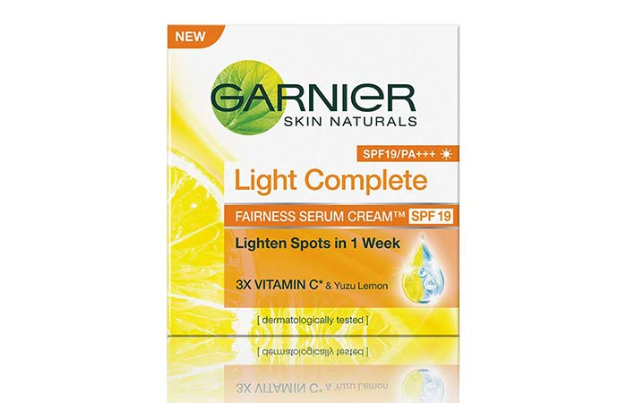 Garnier Skin Naturals Light Complete Serum Cream SPF 19