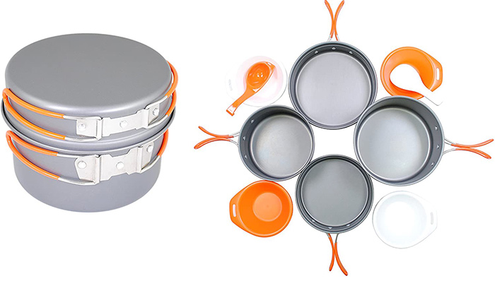 Gas One Anodizing Aluminium Cook Set