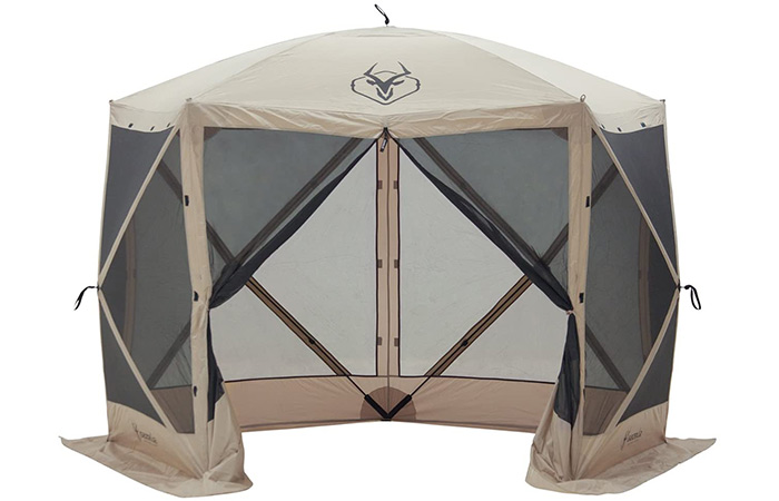 Gazelle Portable Pop-Up Gazebo Screened Tent
