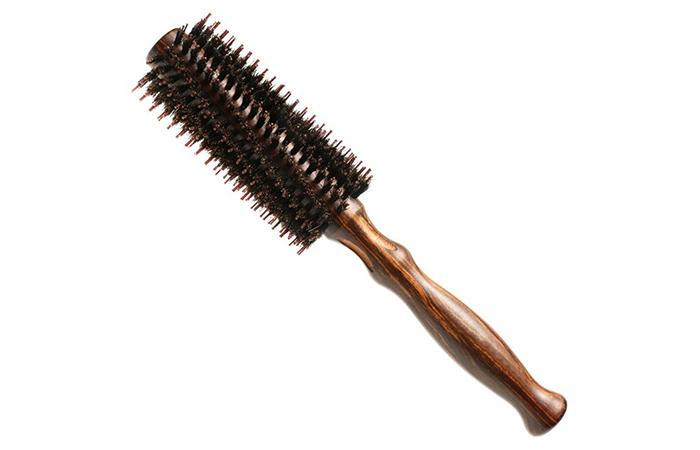 Generic Double Bristle Round Hair Brush