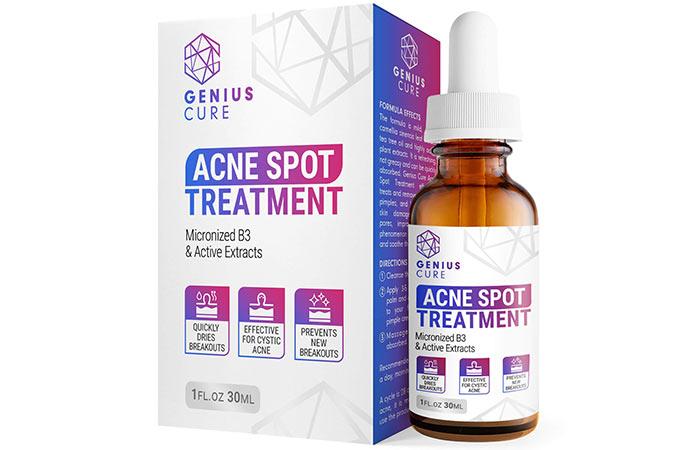 Genius Cure Acne Spot Treatment Serum