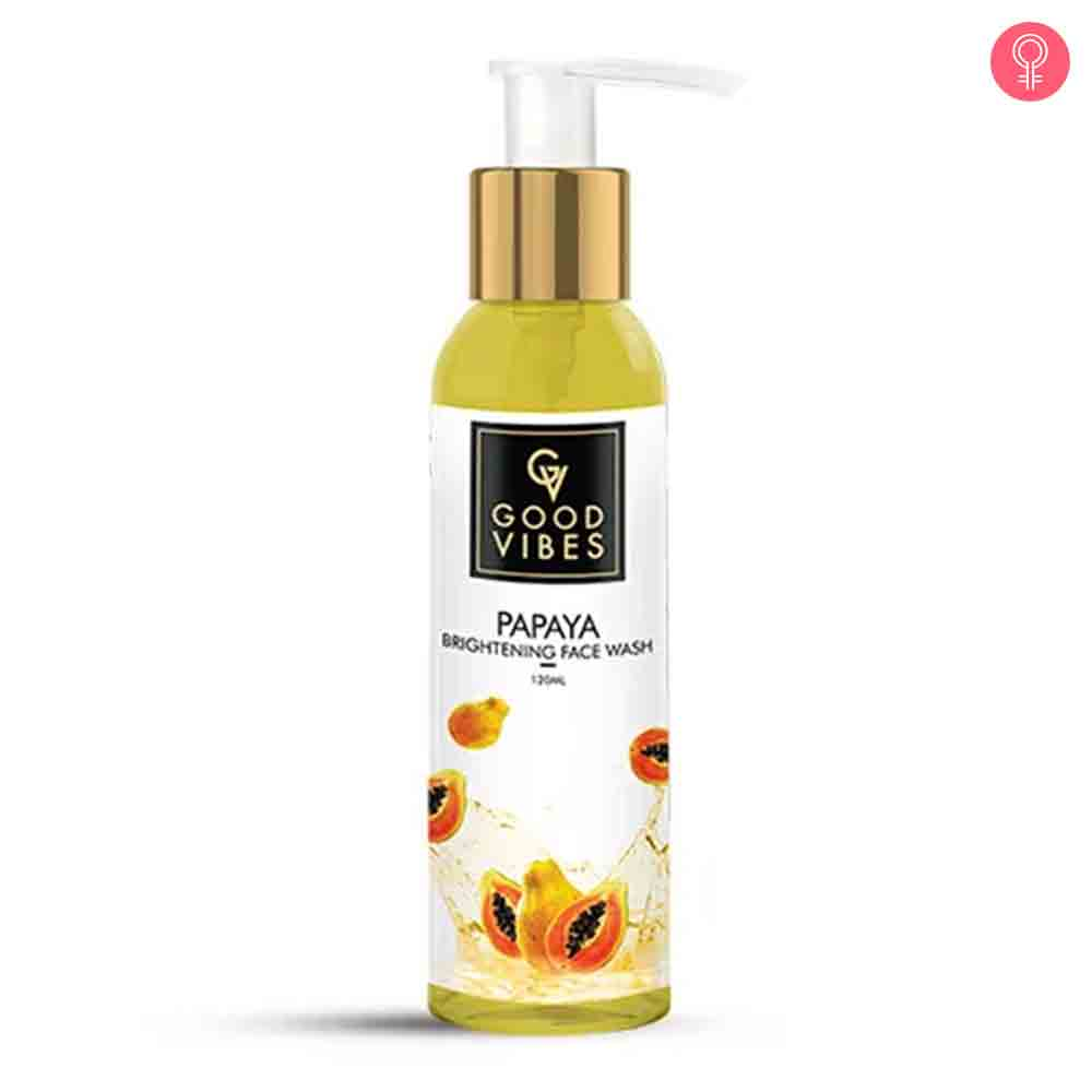 Good Vibes Papaya Brightening Face Wash