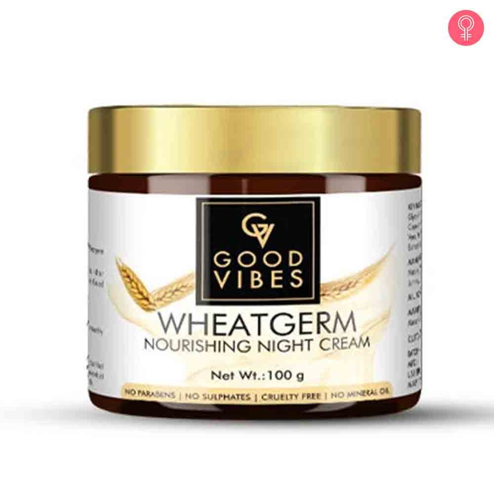 Good Vibes Wheatgerm Nourishing Night Cream
