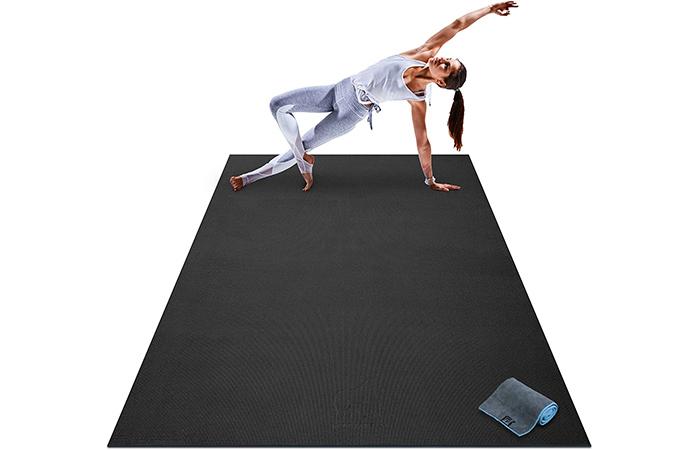 Gorilla Mats Premium Large Yoga Mat/Gym Flooring