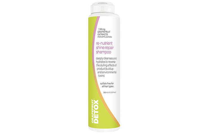 Grapefruit Detox Re-Nutrient Shine Repair Shampoo