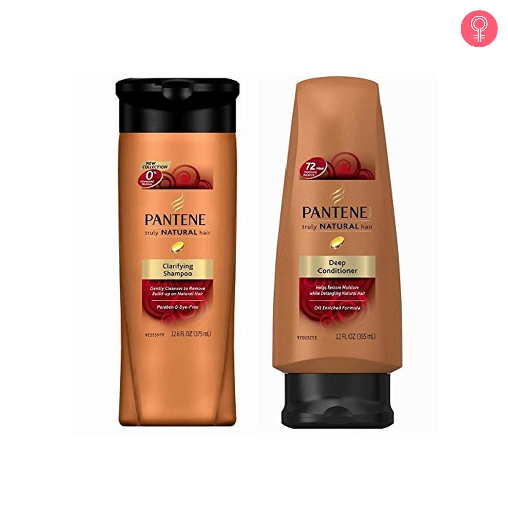 Pantene Pro-V Truly Natural Hair Clarifying Shampoo