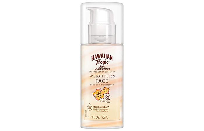 Hawaiian Tropic Silk Hydration Weightless Sunscreen