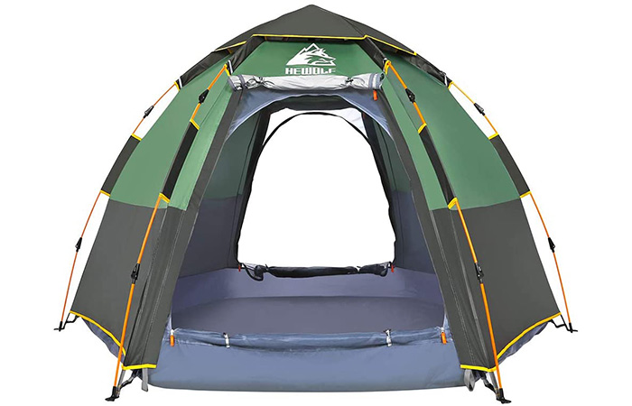 He wolf Instant Camping Tent