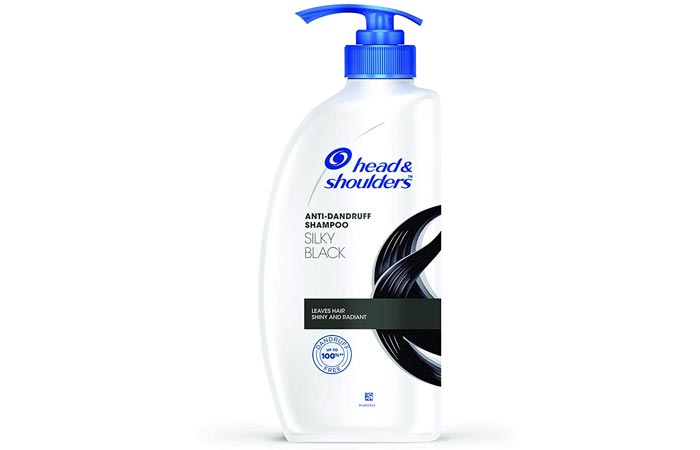 Head And Shoulder Silky Black Anti Dandruff Shampoo