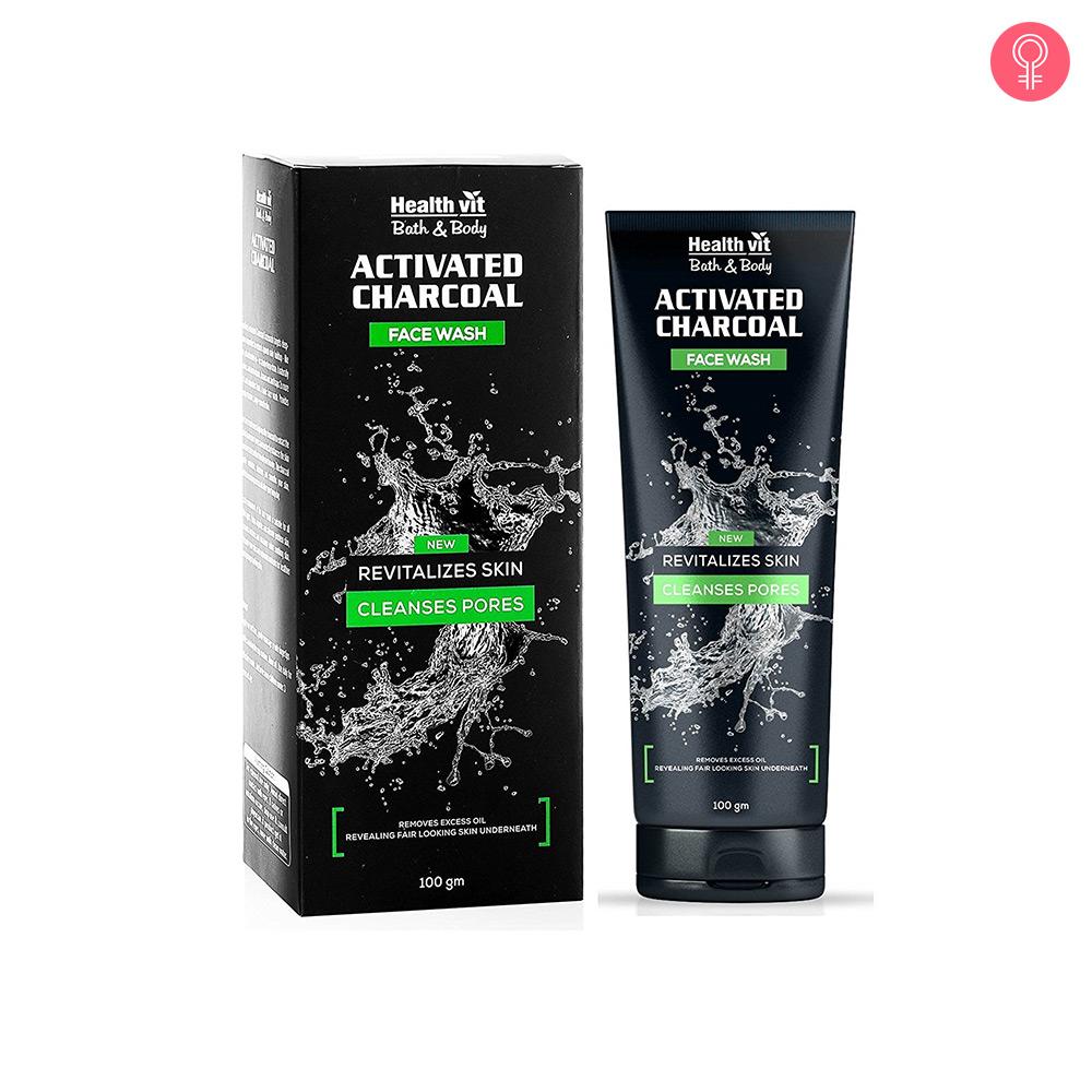 Healthvit Activated Charcoal Facewash