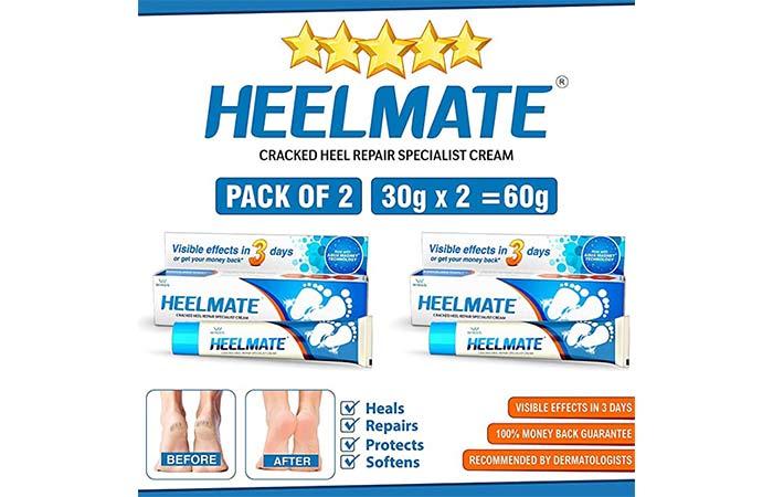 Helmet crack heel repair specialist cream