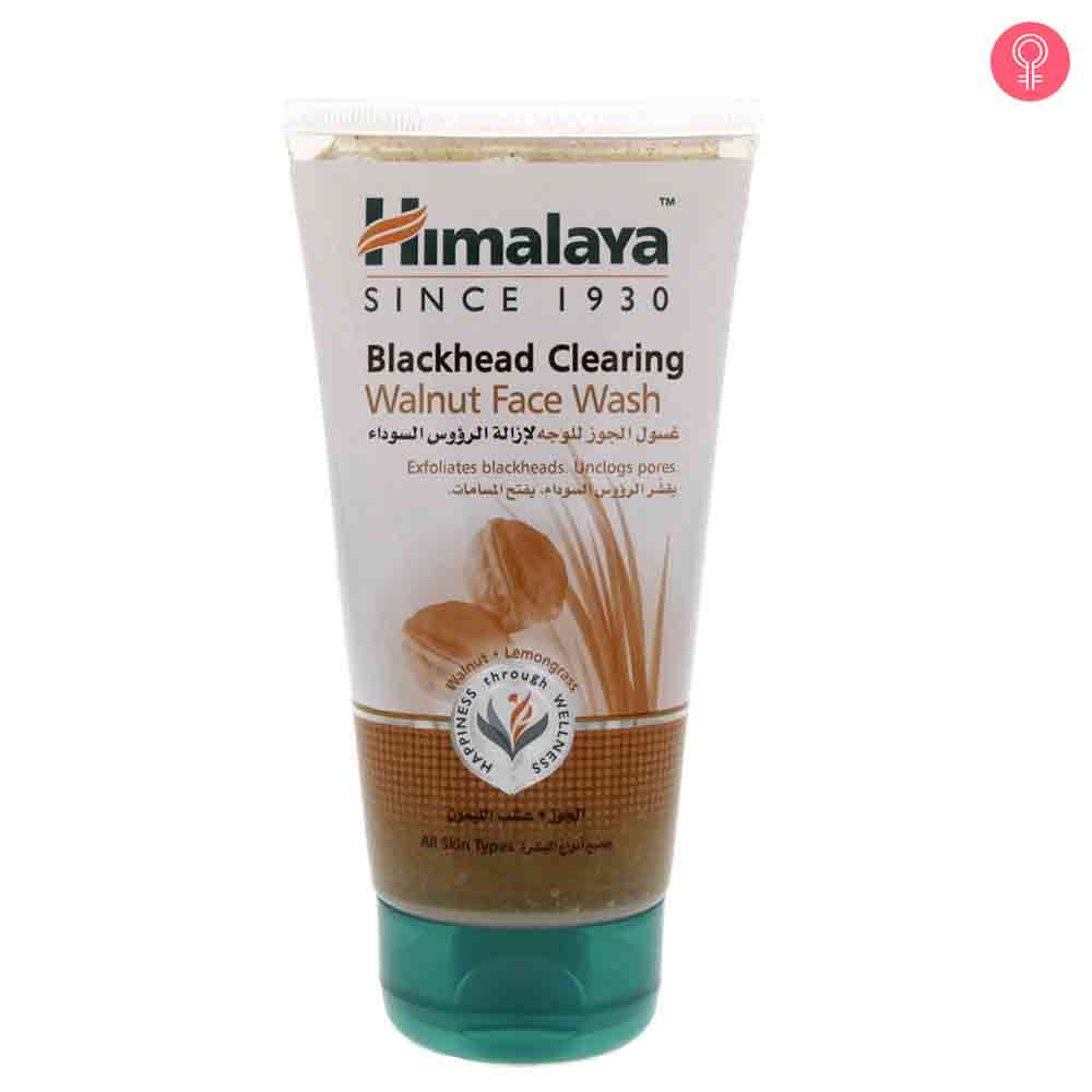Himalaya Herbals Blackhead Clearing Walnut Face Wash