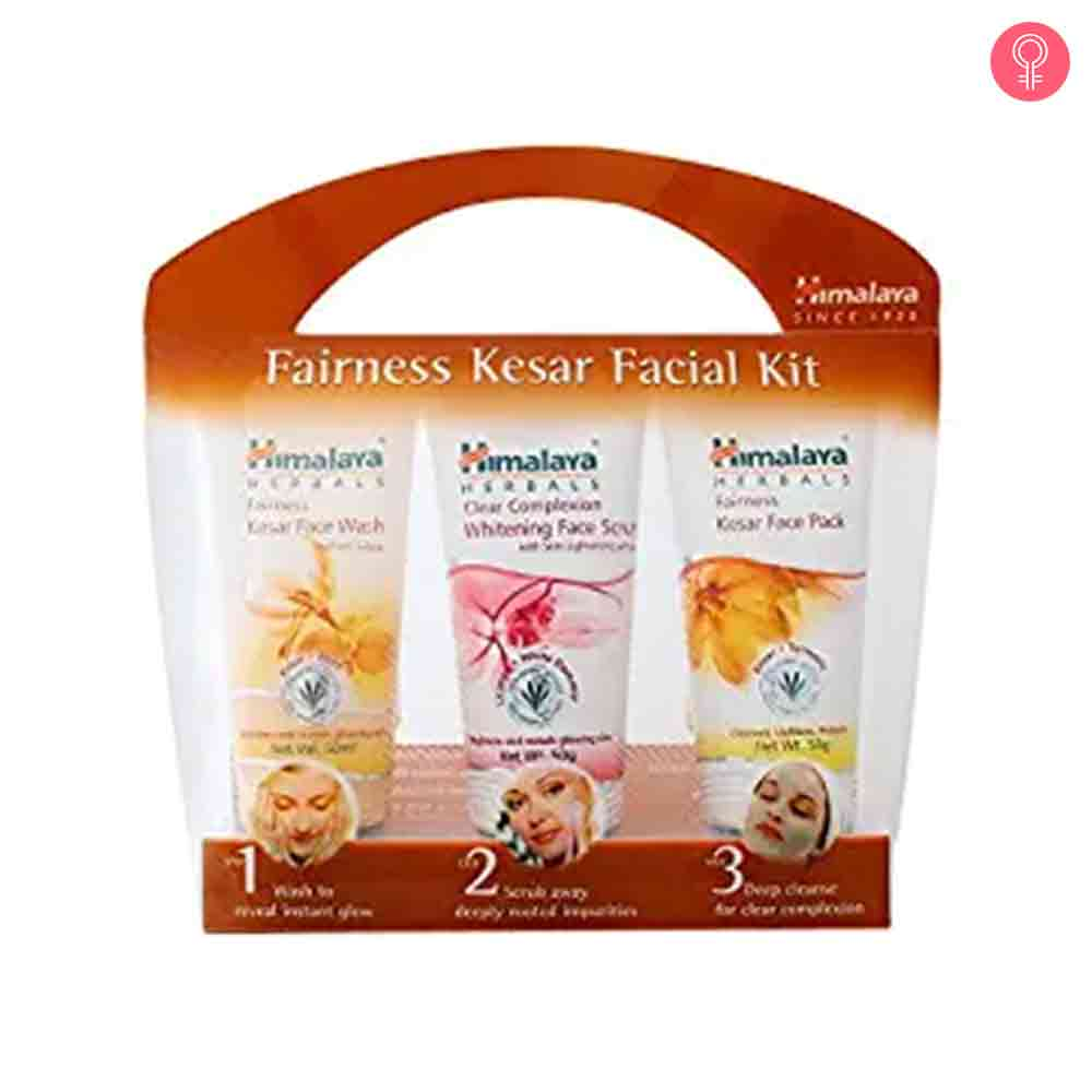 Himalaya Herbals Fairness Kesar Facial Kit
