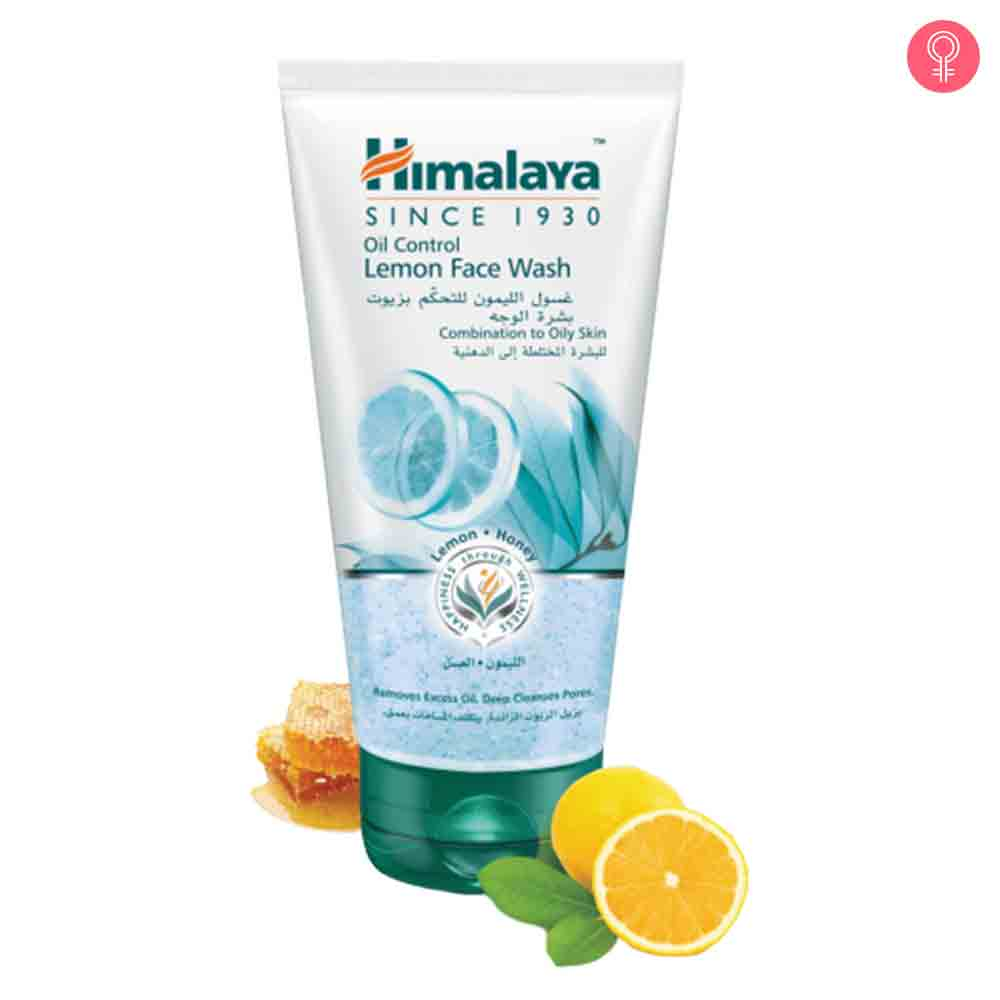 Himalaya Herbals Oil Control Lemon Face Wash (Combination To Oily Skin)
