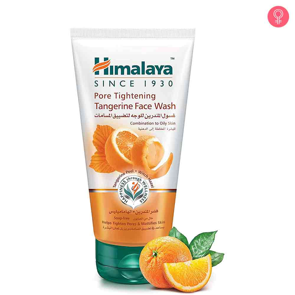 Himalaya Herbals Pore Tightening Tangerine Face Wash