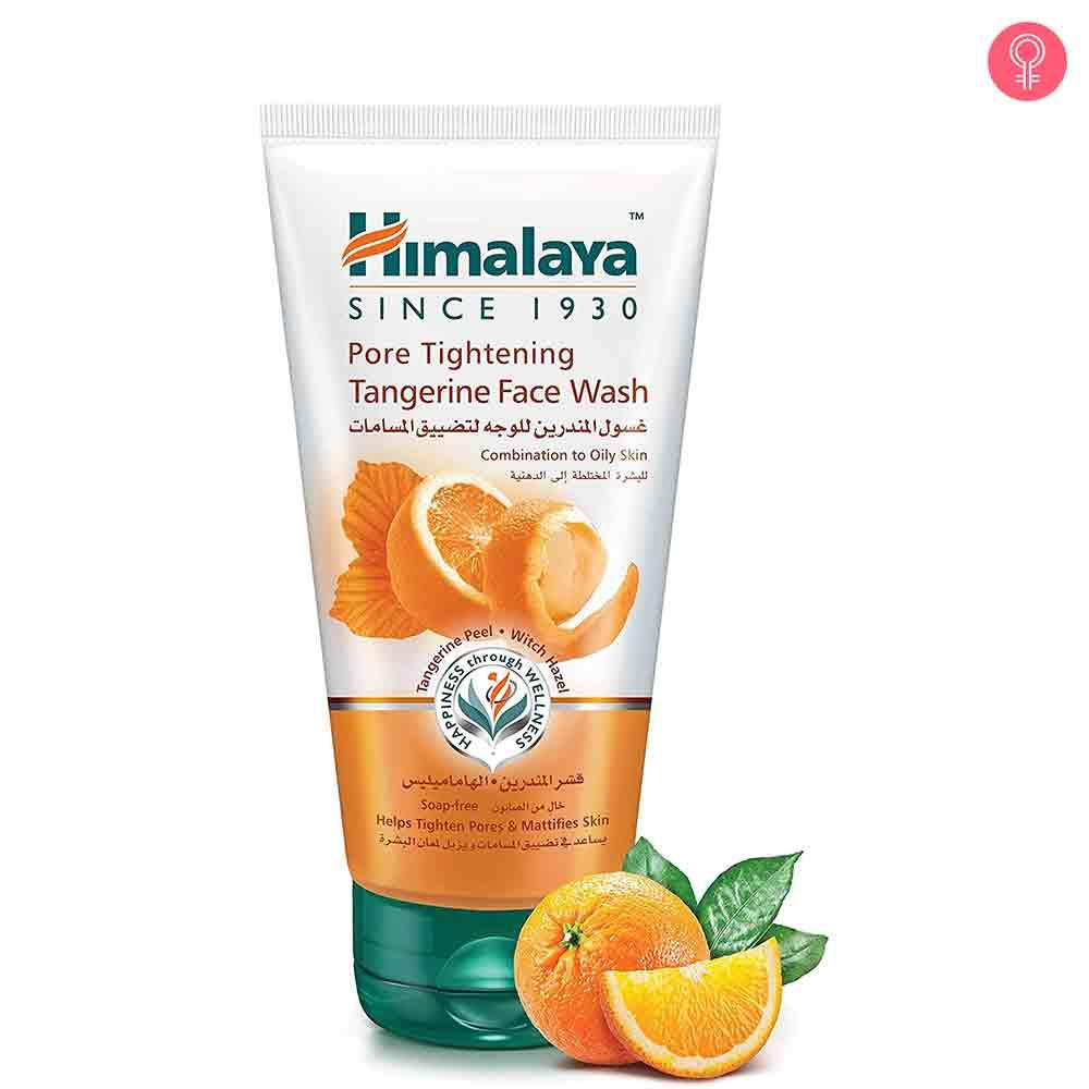 Himalaya Herbals Pore Tightening Tangerine Face Wash
