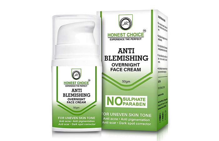 Honest choice Anti Blemish face cream