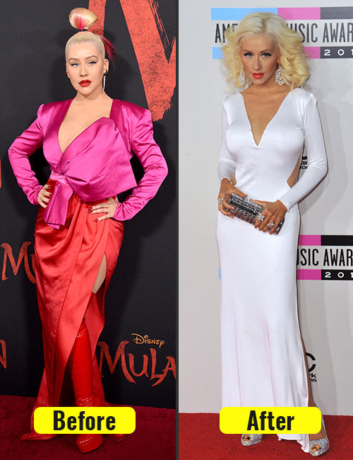 How Christina Aguilera Lost Weight New