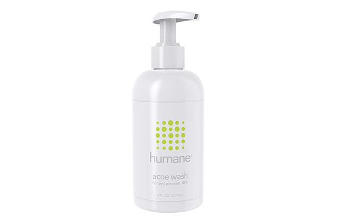 Humane 10% Benzoyl Peroxide Acne Wash