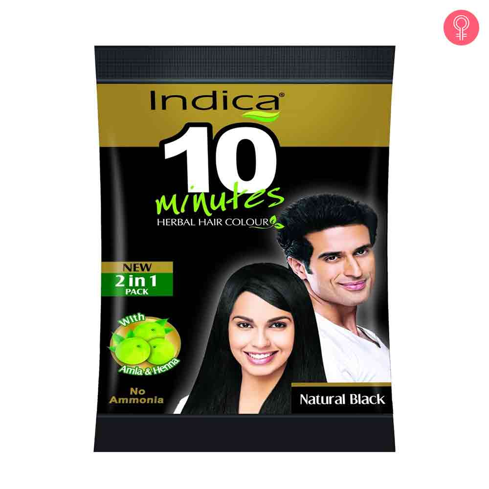 Indica 10 Minutes Herbal Hair Colour