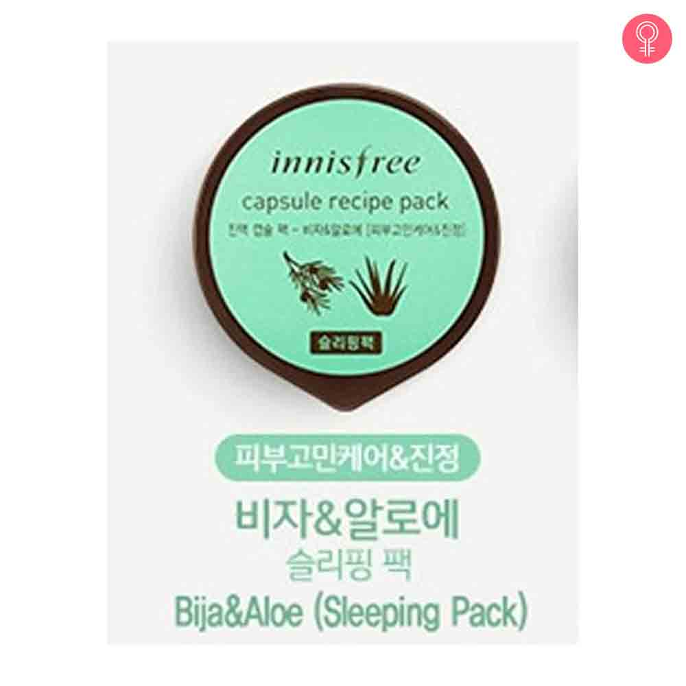 Innisfree Capsule Recipe Pack – Bija & Aloe