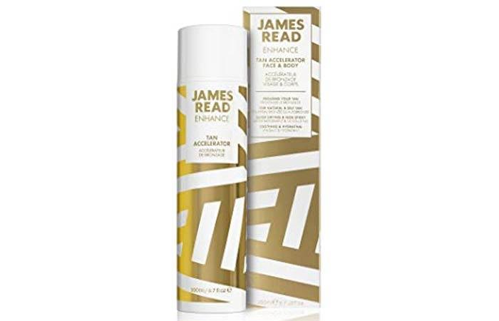 James Read Enhance Tan Accelerator