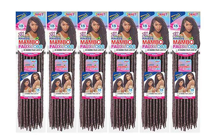 Janet Collection Synthetic Hair Crochet Braids