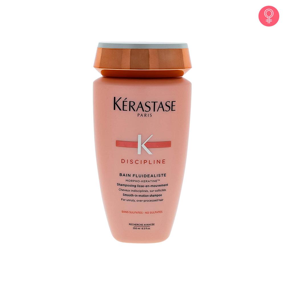 Kerastase Discipline Bain Fluidealiste No Sulfates Smooth-In-Motion Shampoo