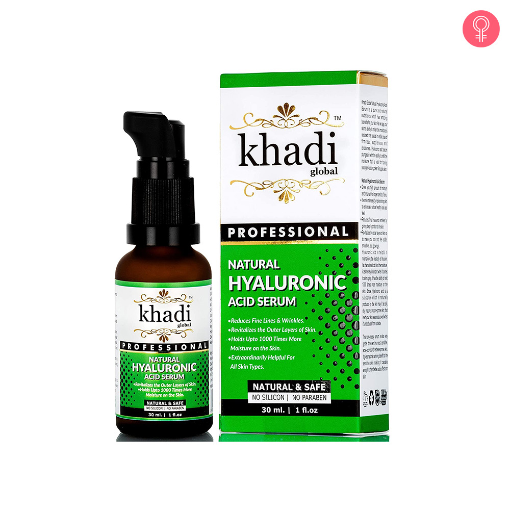 Khadi Global Natural Hyaluronic Acid Serum
