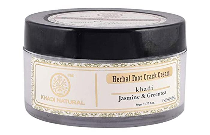 Khadi Natural Jasmine & Green Tea Herbal Foot Crack Cream