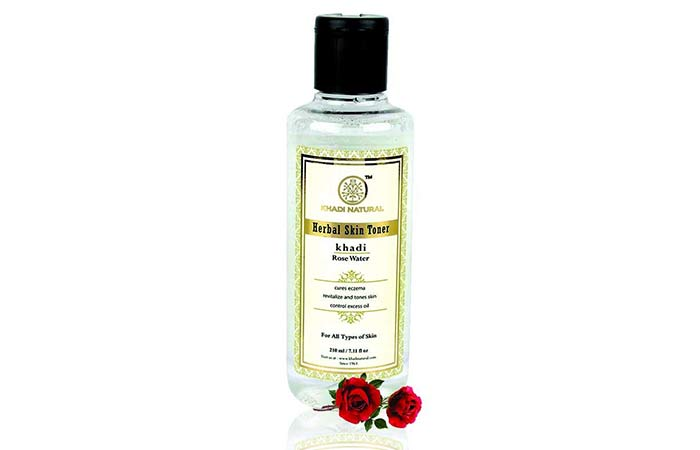 Khadi Natural Rose Water Herbal Skin Tone