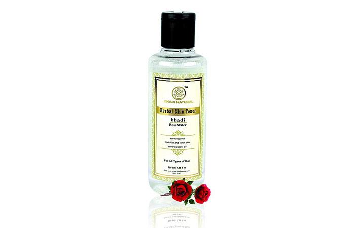 Khadi Natural Rose Water Herbal Skin Toner