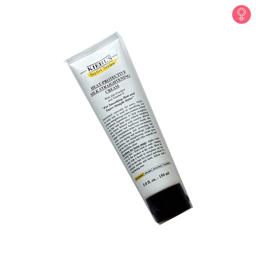 Kiehl's Heat Protective Silk Straightening Cream
