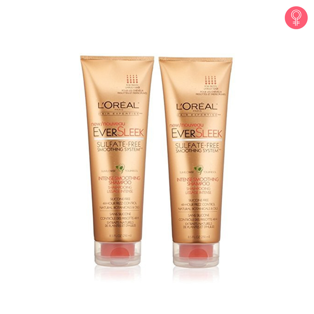 L'Oreal Paris EverSleek Sulfate-Free Intense Smoothing Shampoo