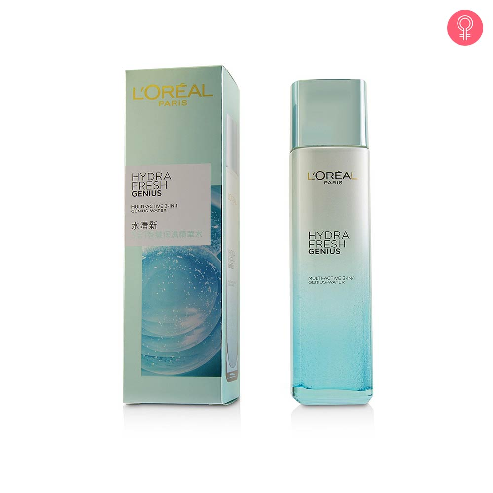 L'Oreal Hydrafresh Genius Multi Active 3 in 1 Genius Water