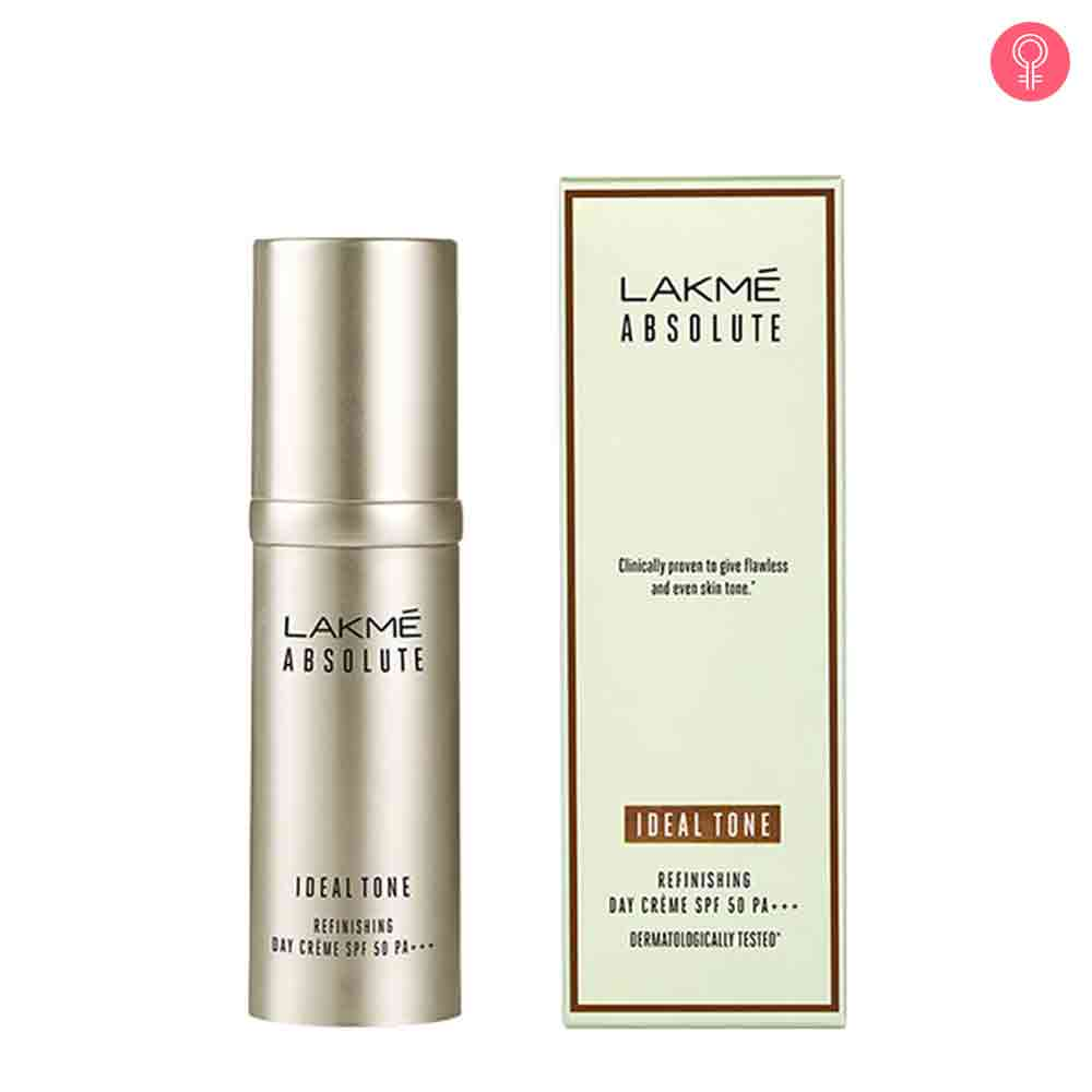Lakme Absolute Ideal Tone Refinishing Day Creme SPF 50