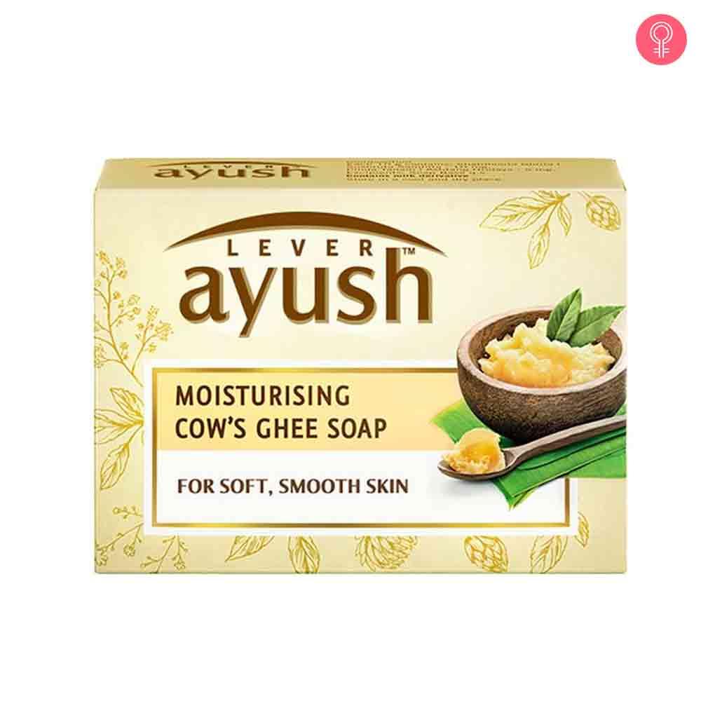 Lever Ayush Moisturising Cow'S Ghee Soap