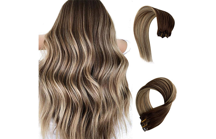 Licoville Balayage Clip-In Hair Extensions